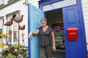 Den Blå Krukke - Shop in Verdal city centre. Photo LA Holme