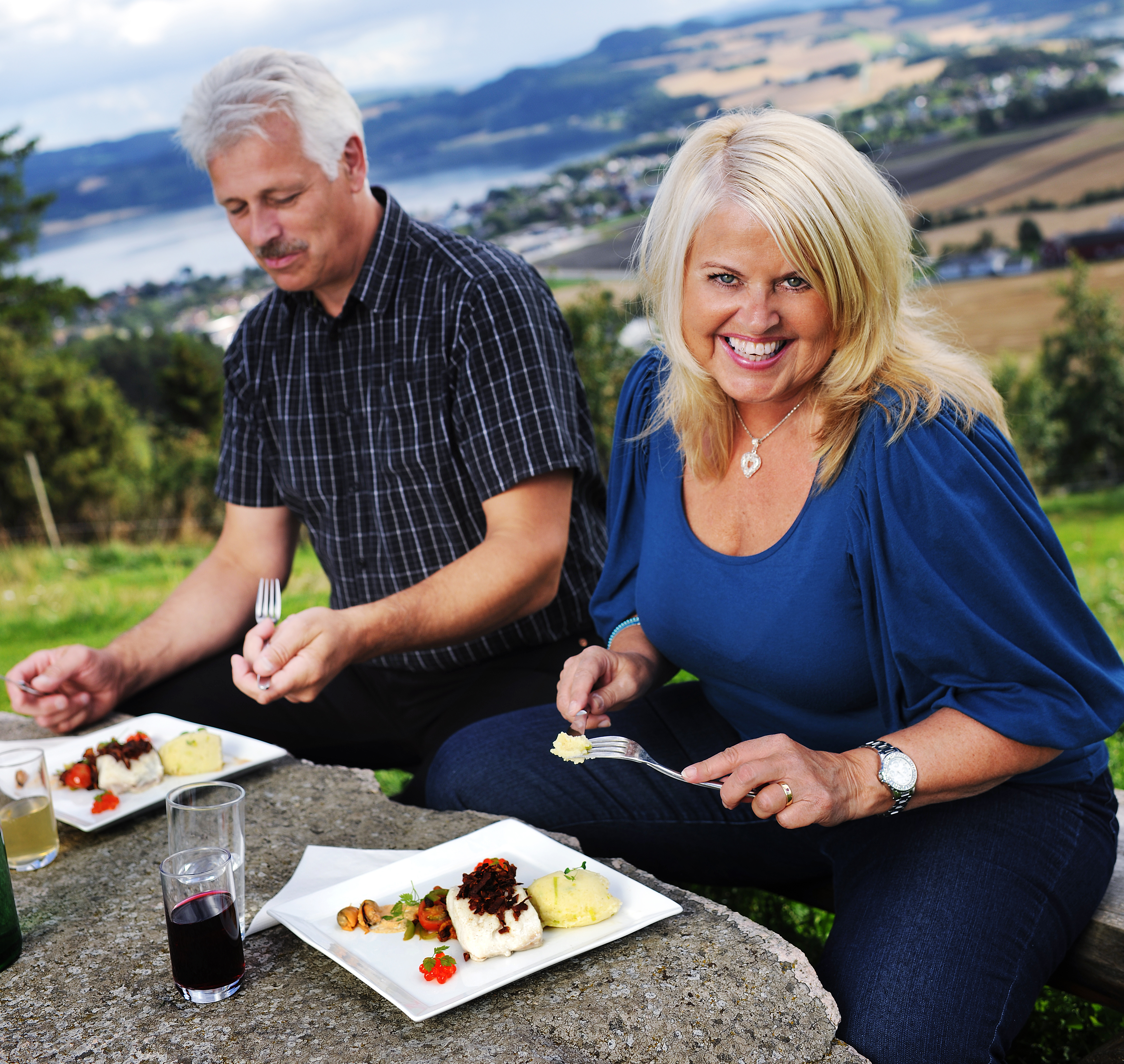 Local food at Øyna