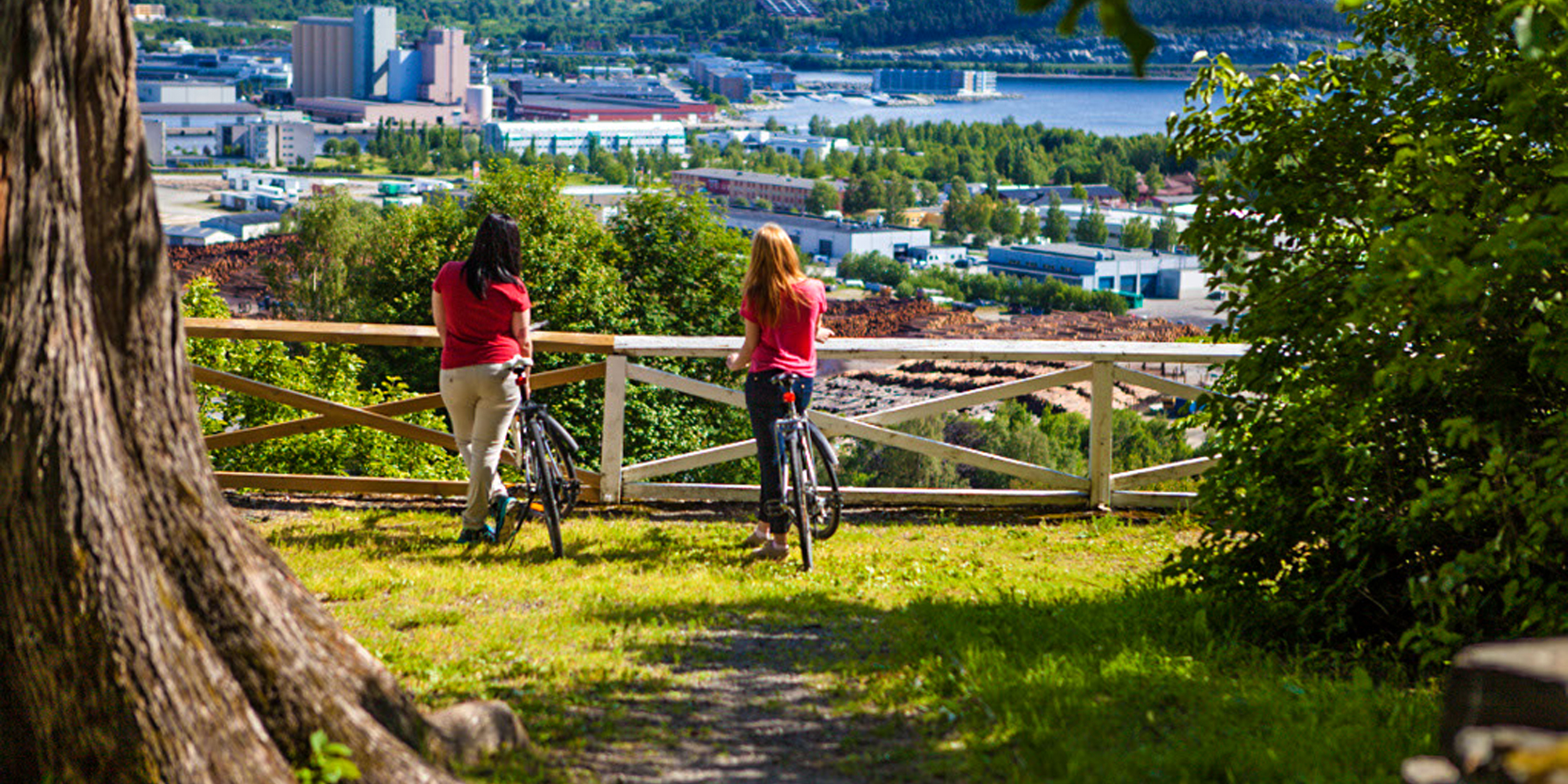 Biking in SteinkjerPhoto: Steinkjerfotografen