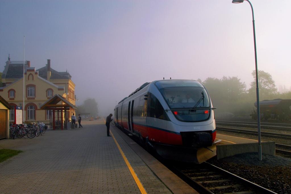 Levanger Train Station - Olav Breen Web