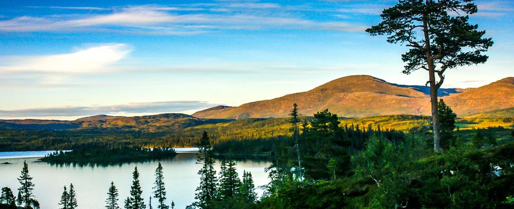 Blåfjella - Skjækerfjella National Park