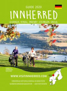 Front page for the 2020 German Tourist guide for Innherred in Trøndelag