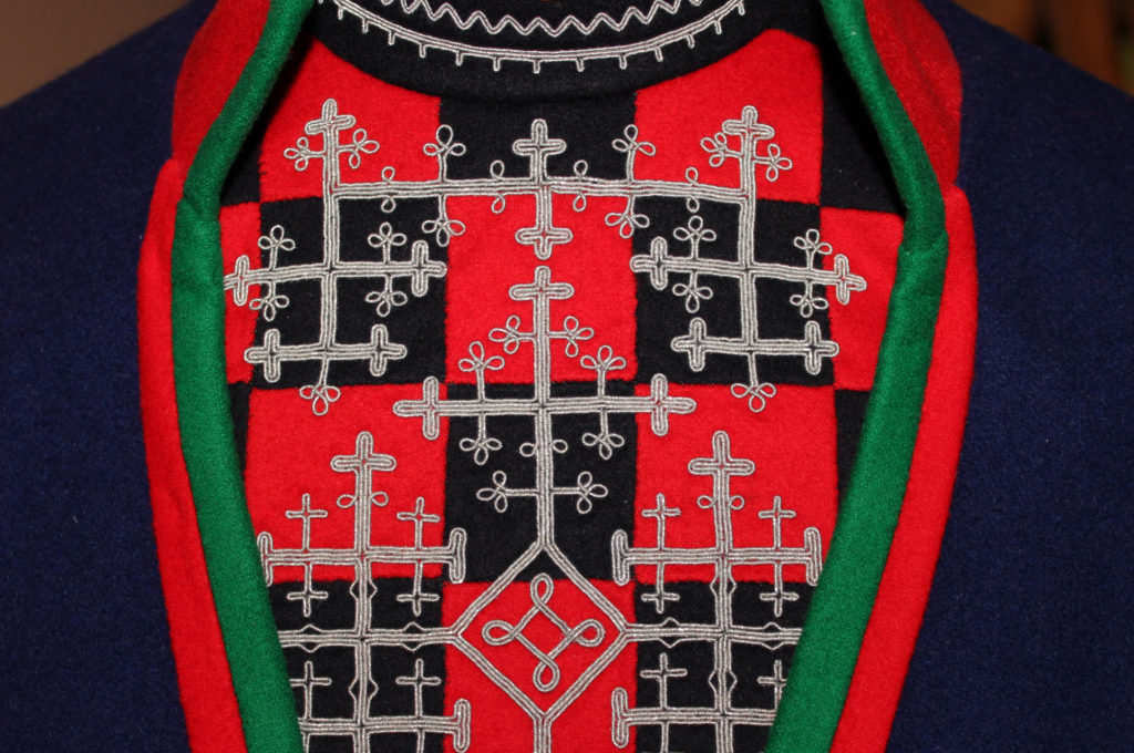 The South Sami folk costume - Gapta